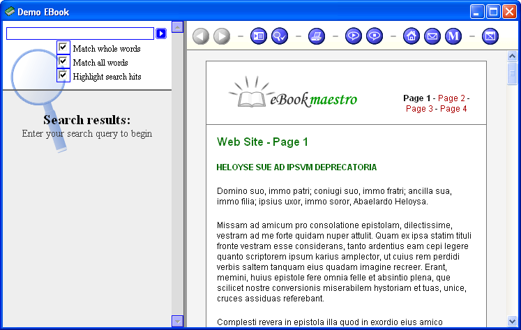 eBook Maestro PRO Screenshot